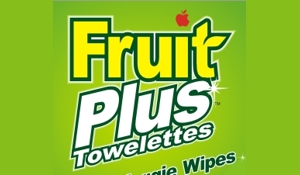 Fruit Plus Towelettes Fruit & Veggie Wipes